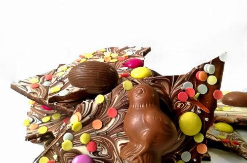 Συνταγή πασχαλινές σοκολατένιες μπάρες